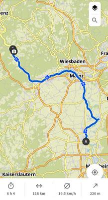 Tag 2: Worms nach St.Goar