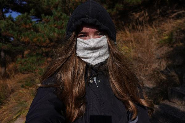 Day 6: Nach einer Nacht auf dem Berg einen Tag lang Treppen laufen (es war ganz schön kalt morgens)