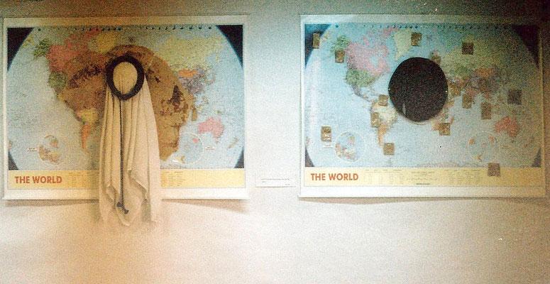 Two Worlds, Installation, 1998