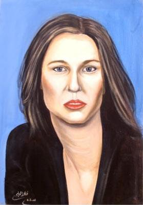 Zipi Levni, Acrylic on canvas, 70 x 100 cm, 2006