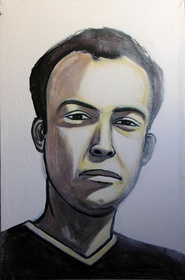 Brother, Acrylic on canvas, 100 x 70 cm, 2005