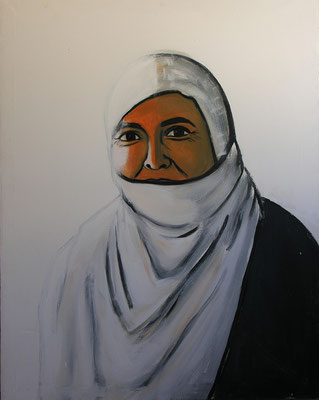 Sister, Acrylic on canvas,90 x 130 cm, 2005