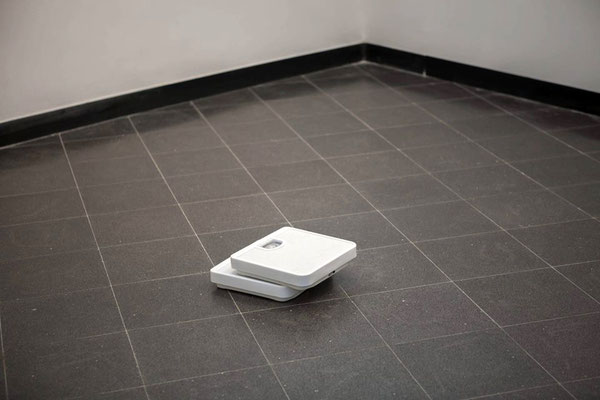 Two Scales On The Ground, Installation, 2013