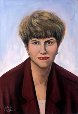 Dalia Etzik, Acrylic on canvas, 70 x 100 cm, 2006