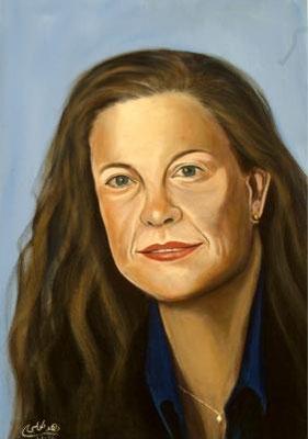 Yuli Tamir, Acrylic on canvas, 70 x 100 cm, 2006