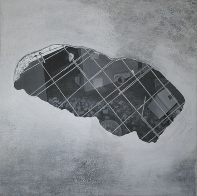 Acrylic on canvas, 80 x 80 cm, 2011