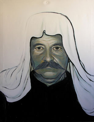 Father, Acrylic on canvas, 110 x 150 cm, 2005