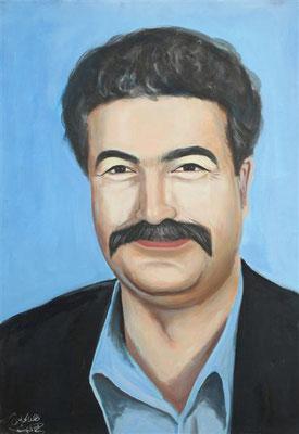 Amir Perez, Acrylic on canvas, 70 x 100 cm, 2006