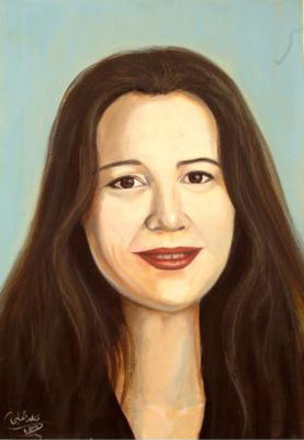 Sheli Yokhomovic, Acrylic on canvas, 70 x 100 cm, 2006