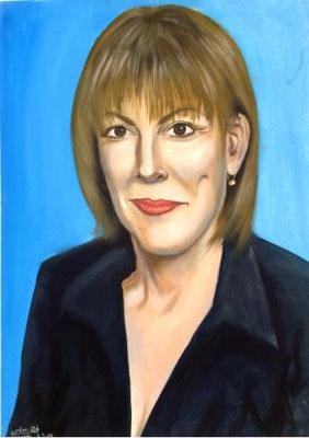 Limor Livnat, Acrylic on canvas, 70 x 100 cm, 2006