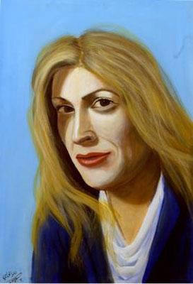 Inbal Gabrieli, Acrylic on canvas, 70 x 100 cm, 2006