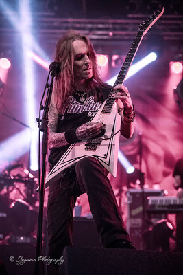 Szeymour Photography - Children of Bodom - Alexi Laiho - 20 Years of Down and Dirty - Reithalle Strasse E Dresden - 26.03.2017