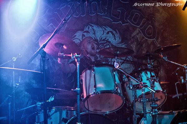 Szeymour Photography - Grimgod - Skullcrusher, Dresden 07.10.2017
