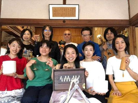 新月音楽瞑想会&アファーメーション@妙法寺