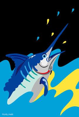 Bahamas:Blue Marlin