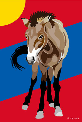 Mongolia:Przewalski Horse