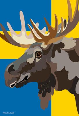 Sweden:elk