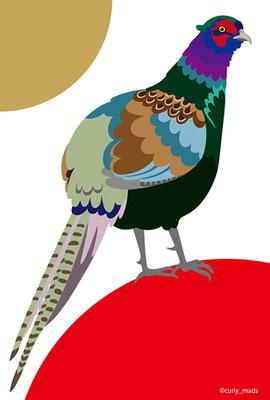 Japan:pheasant (national bird)