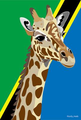 Tanzania:Giraffe