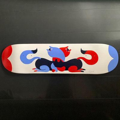twins skateboard