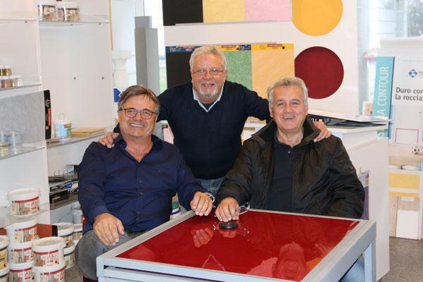 Vincenzo, Graziano, Claudio