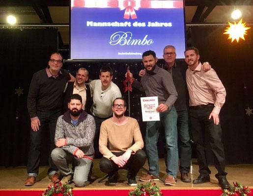 Mannschaft des Jahres GTSV Frankfurt: Deutscher Meister und Deutscher Pokalsieger, Basketballmannschaft Herren
