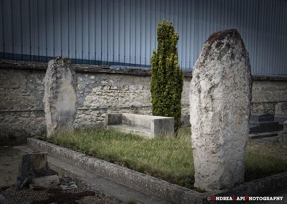 Tomba di G.I. Gurdjieff - in un cimitero vicino a Fointebleau