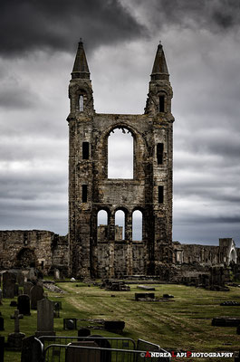 Scozia - St Andrews - La cattedrale