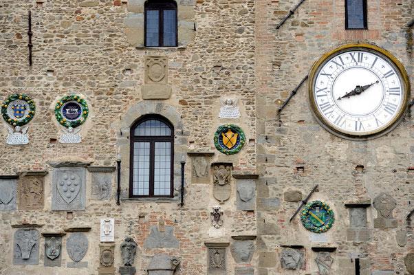 Perticolare del Palazzo dei Vicari - Scarperia
