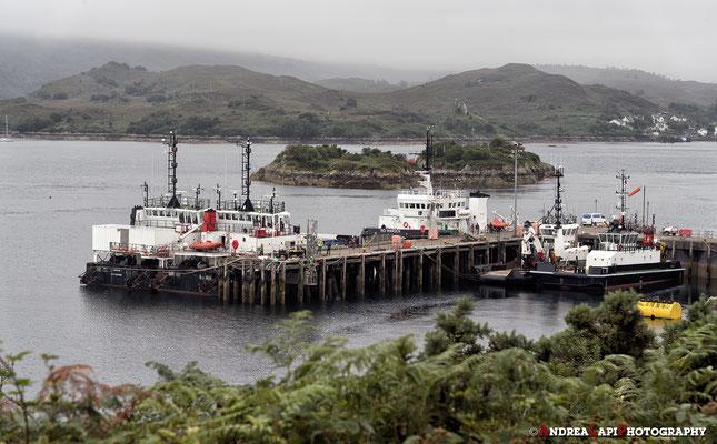 Scozia - Verso l'Isola di Skye, che si raggiunge grazie a un ponte