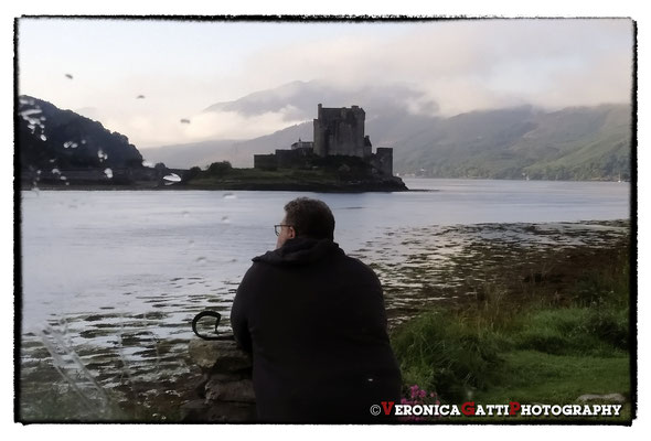 Aspettando i primi raggi di sole sul castello