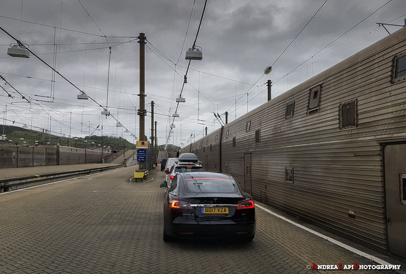 Inghilterra - Il giorno dopo riprendiamo il treno per l'Eurotunnel