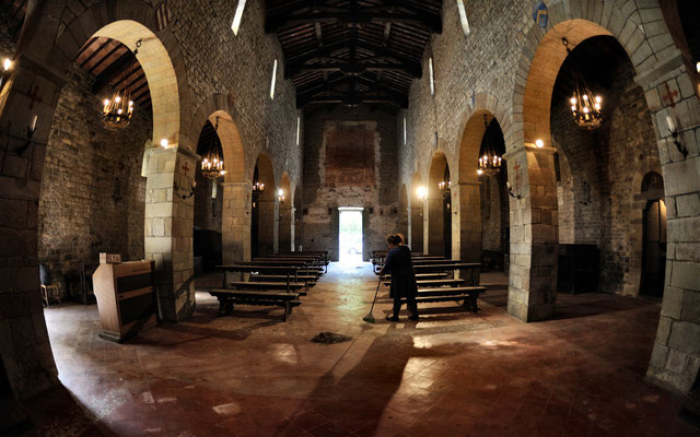 Pieve di Faltona - interno (Borgo San Lorenzo)