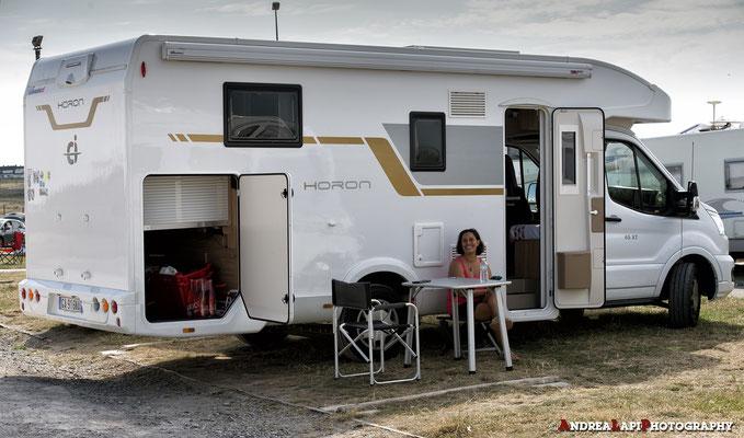 Francia - Le Touquet Paris Plage - Per pranzo ci fermiamo in un'area sosta camper a pagamento... soldi spesi bene in quanto da lassù c'è una vista stupenda. 70-200 sulla Nikon D5... e scatti a volontà...