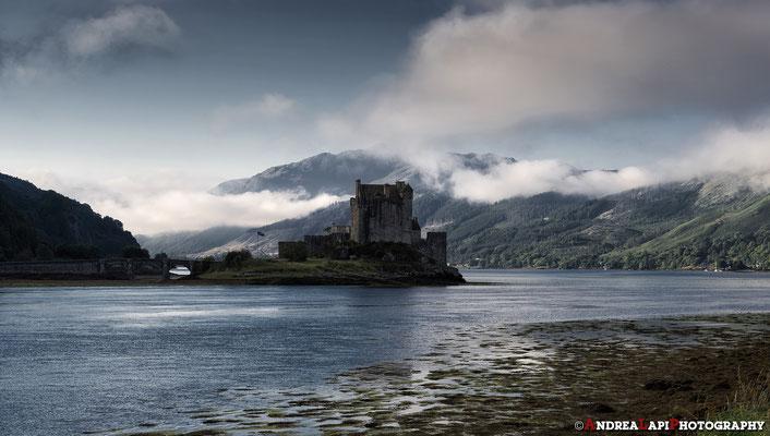 Scozia - Eilean Donan Castle all'alba