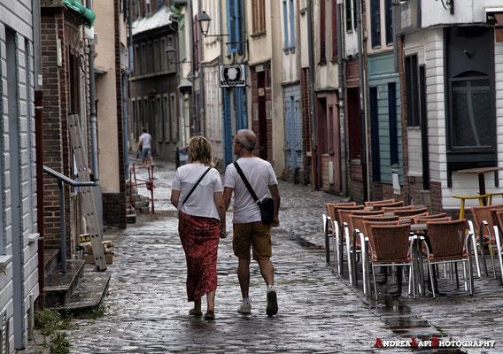 Francia - Amiens (vicoli dietro la Cattedrale)