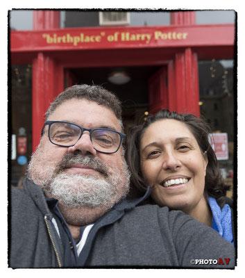 Scozia - Edinburgh - Dove è nato Harry Potter...
