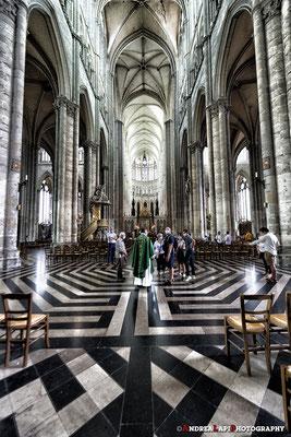 Francia - Amiens - Interno della Cattedrale