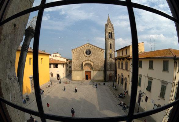 La Propositura vista dal Palazzo dei Vicari - Scarperia