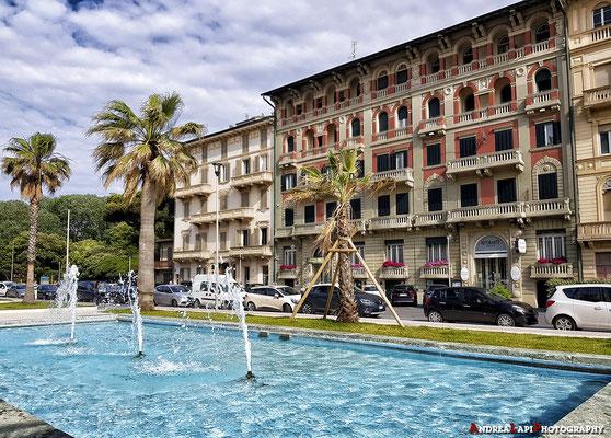 Viareggio: la facciata del nostro Hotel, il Residence Esplanade