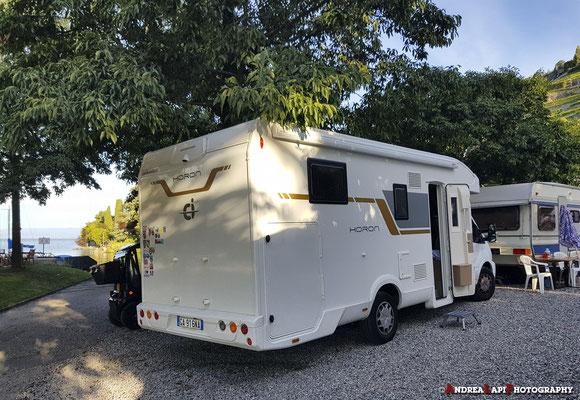 Svizzera - Camping sul lago... ultima piazzola disponibile...