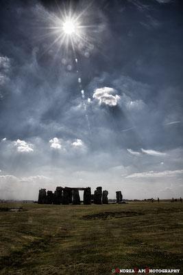 Inghilterra - Stonehenge - Luce sulle Pietre - Versione II