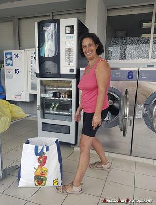 Tra una tappa e l'altra... lavatrice e asciugatrice!