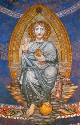 Pieve di Borgo San Lorenzo (abside - particolare)