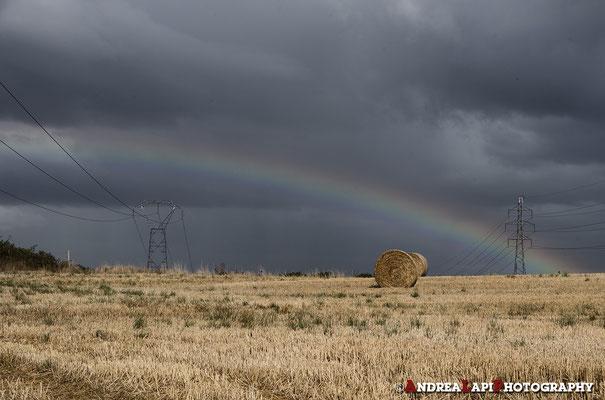 Verso Dinan, dopo il temporale...
