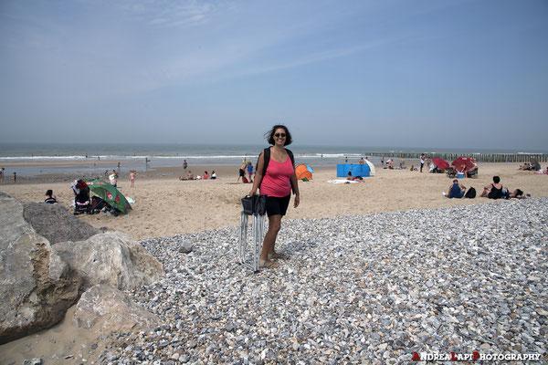 Relax sulla spiaggia a Boulogne sur Mer