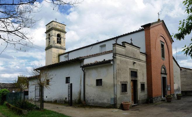 Chiesa di Piazzano - Borgo San Lorenzo