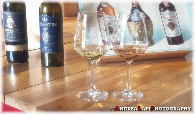 Castello di Brolio - Degustazione vino
