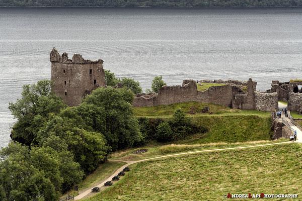 Scozia - Castello di Urquhart, sul Loch Ness