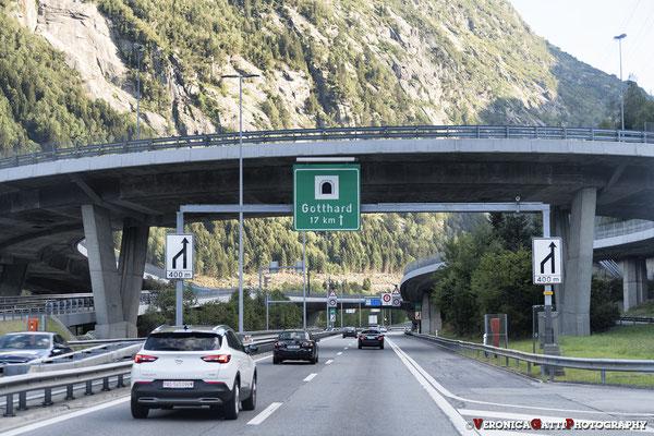 Tunnel del Gottardo... verso l'Italia!